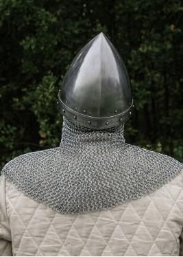 Casque Viking avec cotte de mailles Aventail
