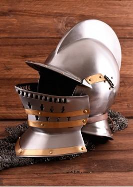 Casque Bourguignotte - 1,2 mm d'acier