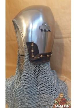 Casque Bassinet Médiéval à bec - Casques de Combat Médiévale