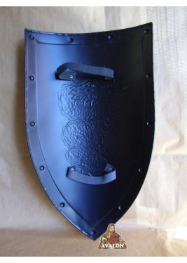Bouclier médiévale - Bouclier avec Dragon Ailé