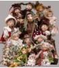 Elfes, fées et lutins en porcelaine