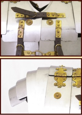 Lorica Segmentata Corbridge A - Epaisseur: 1,3 mm