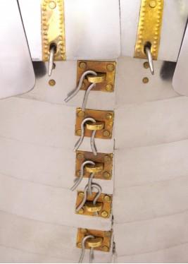 Lorica Segmentata - Modèle Newstead - Epaisseur: 1,2 mm
