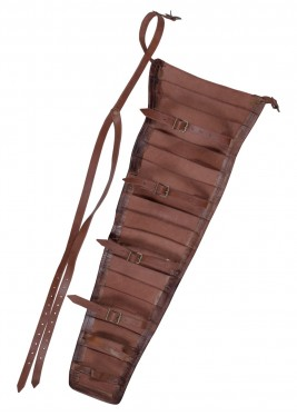 Protège-bras gladiateur - manica  cuir