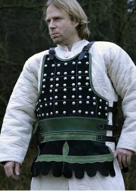 Brigandine en Cuir - Brigandine Viking