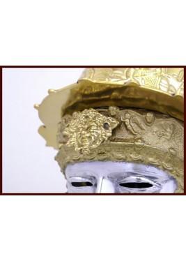Casque  Roman - Casque Weiler avec visage
