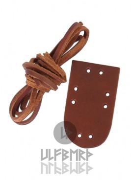 Kit d'extension pour armure lamellaire en cuir