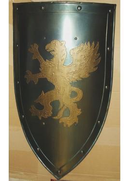 Bouclier médiévale avec griffon