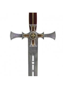 Épée Templière Damascène