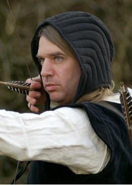 Bonnet rembourré - Coiffe pour Casque médiéval