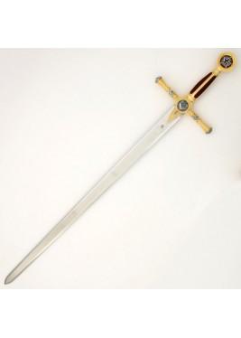 Épée Marto couleur or franc-maçon