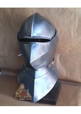 Casque de chevalier médiéval - Casque Français