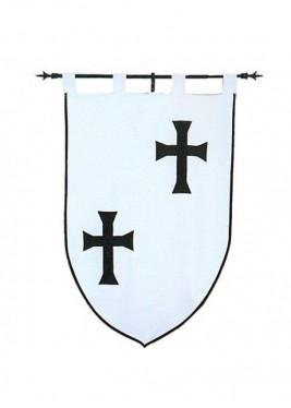 Bannière des chevaliers teutoniques