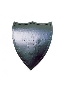 Bouclier Européen en fer symbole de bleuet