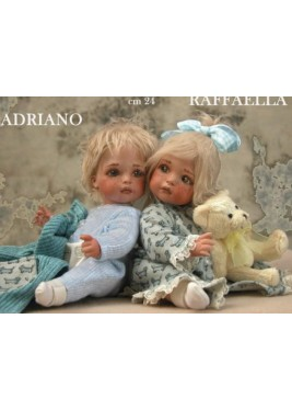 Poupée Porcelaine, Adriano et Raffaella