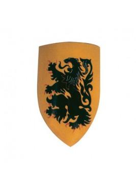 Bouclier Médiéval - Bouclier lion rampant