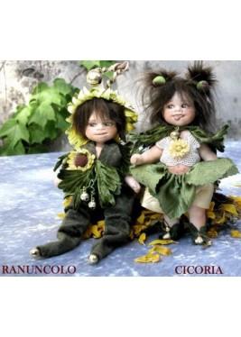 Poupées Chicorée et Ranuncolo, Poupées Collection