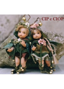 Poupées Cip e Ciop, Poupées Porcelaine Collection