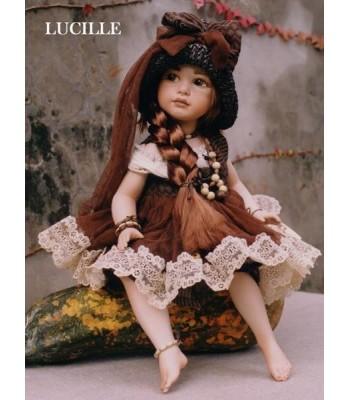 Poupée Porcelaine, Lucille