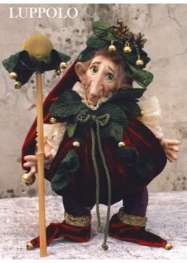 Poupée Porcelaine Elfe: Houblon et citrouille