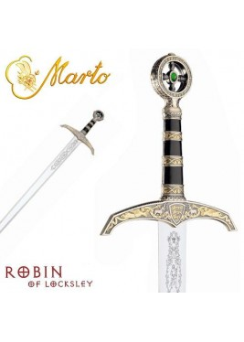 Épée Robin des Bois, argentée, Marto