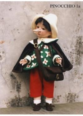 Poupée Pinocchio Conte des Fée, 50 cm