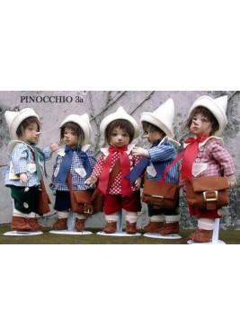 Poupée écolier Pinocchio Conte des Fée, 33 cm