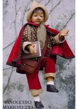 Marionnette Pinocchio - Marionnette en Porcelaine