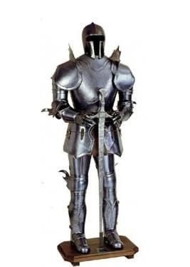 Armure Médiévale Teutonique ornementale