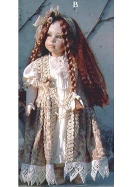 Poupée de Collection Adelina (B)  - Hauteur 48 cm