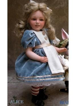 Poupée Porcelaine, Alice