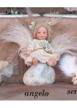 Faveur Angel Poupée Porcelaine Collection, 14 cm