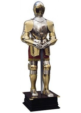 Charles V Armour-Gold Finish-Marto