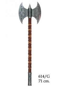 Hache Viking - Hache viking à deux têtes