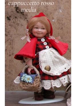 Petit Chaperon Rouge (moyenne) - poupée porcelaine de collection