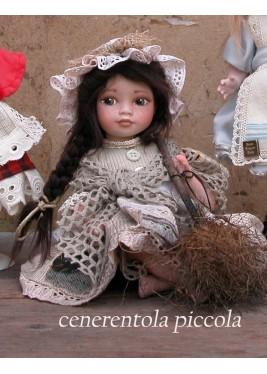 Poupée Cendrillon petite Conte des Fée, 22 cm