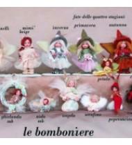 Faveurs de mariage poupées
