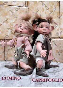 Poupées:  Elfes Cumino et Caprifoglio