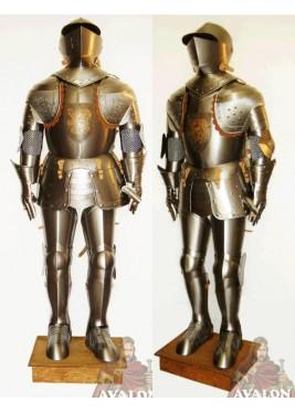 Armure de Chevalier - Emblème personnalisé