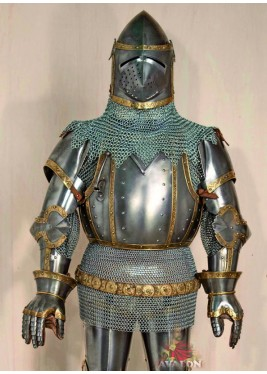 Armure Médiévale - Armure Médiévale complète