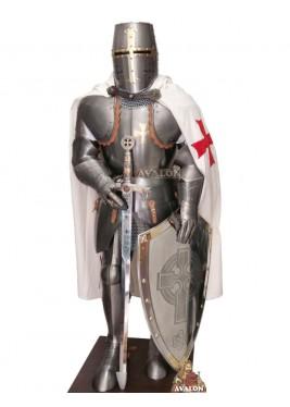 Armure Templier Complète -  Armure Pour Décoration