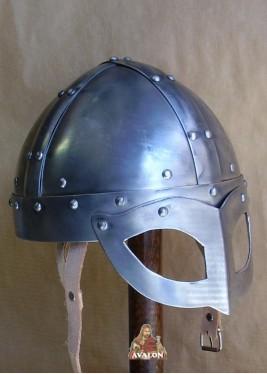 Casque Viking de combat à lunettes