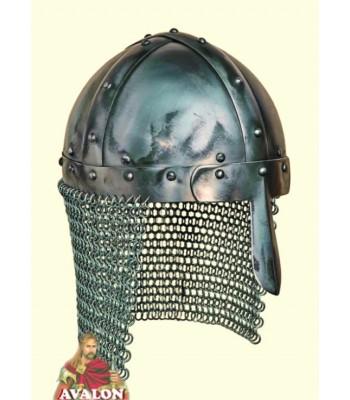 Casque Normand à nasal, casques médiévaux