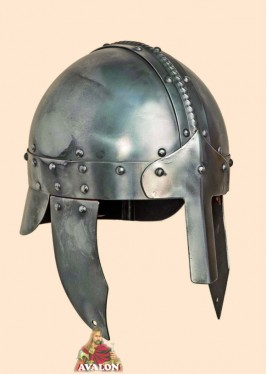 Casque à Nasal - Casque Viking Normand