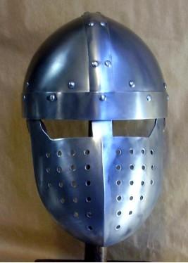 Casque Médiéval à faciale
