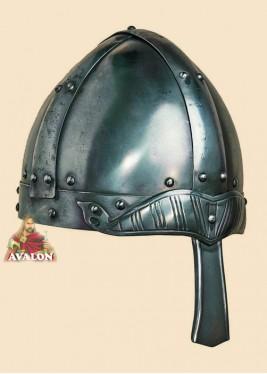 Casque Médiéval à Nasal - Casque Viking