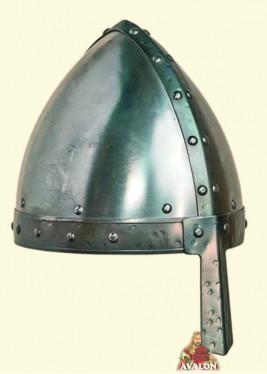 Casque Médiéval - Casque Conique à Nasal