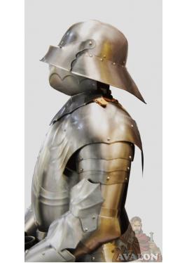 Armure Gothique fonctionnelle XVe siecle