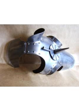 Chamfron, Armure de cheval médiéval