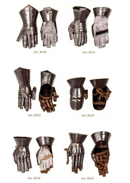 Gantelets médiévale
